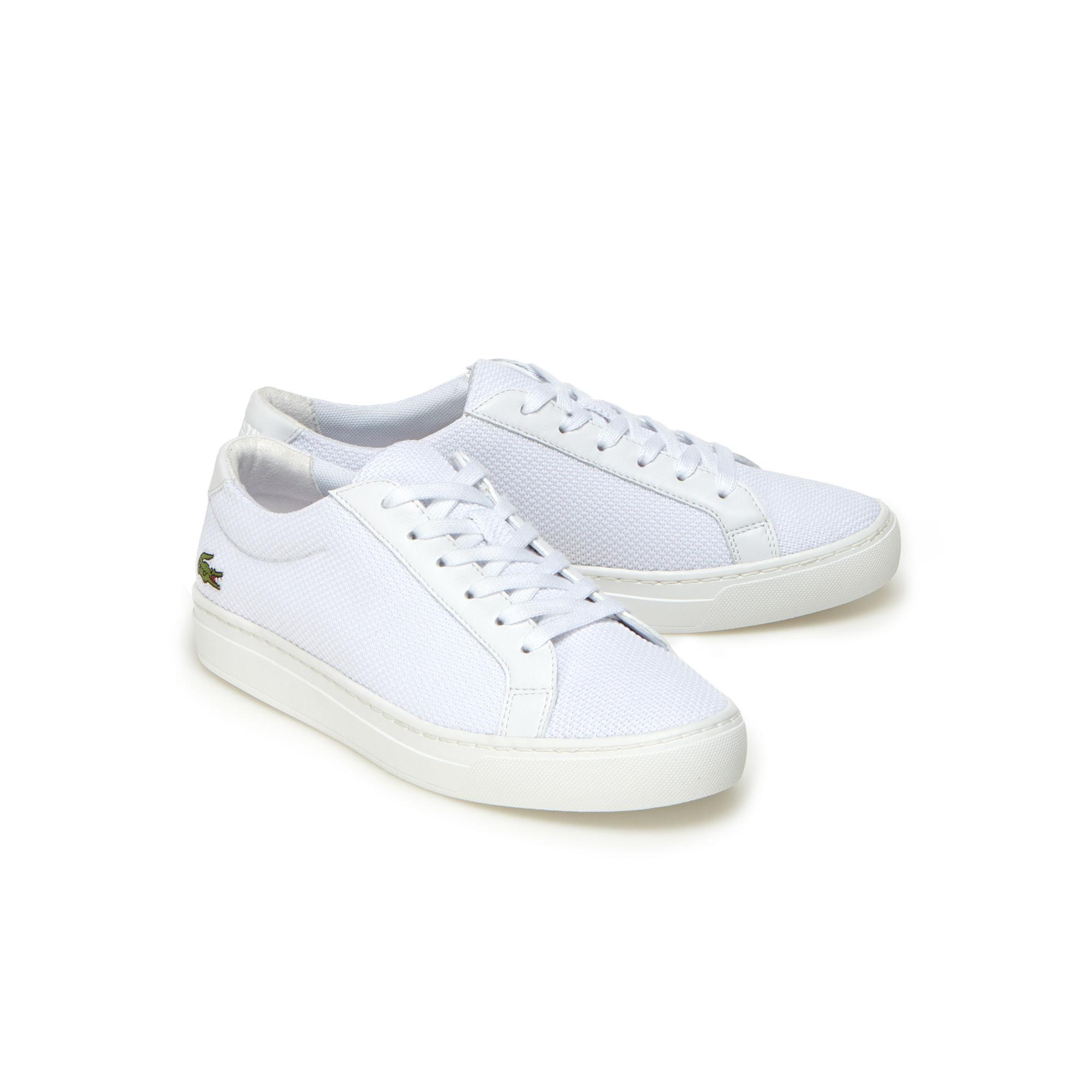 062db2141 Lyst - Lacoste Children s L.12.12 Bl Textile And Leather Trainers in ...