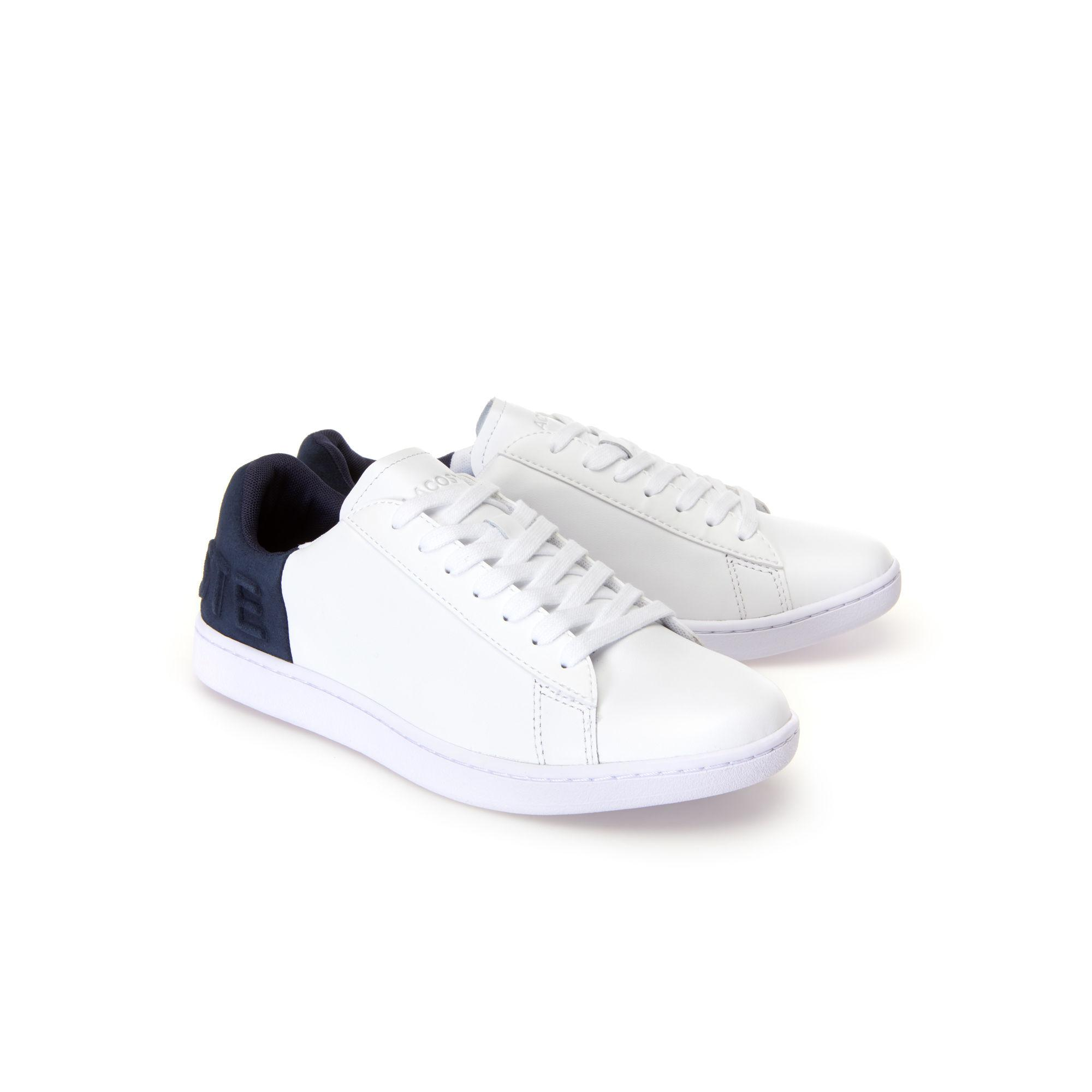 bb71369febb318 Lacoste - Multicolor Carnaby Evo Colourblock Leather Trainers - Lyst