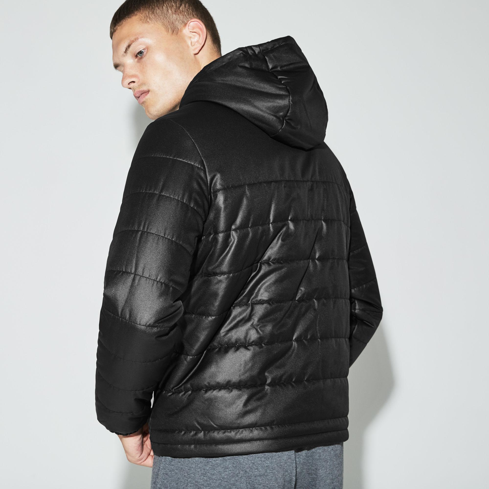500ad29ec Lyst - Lacoste Sport Hooded Water-resistant Taffeta Tennis Jacket in ...