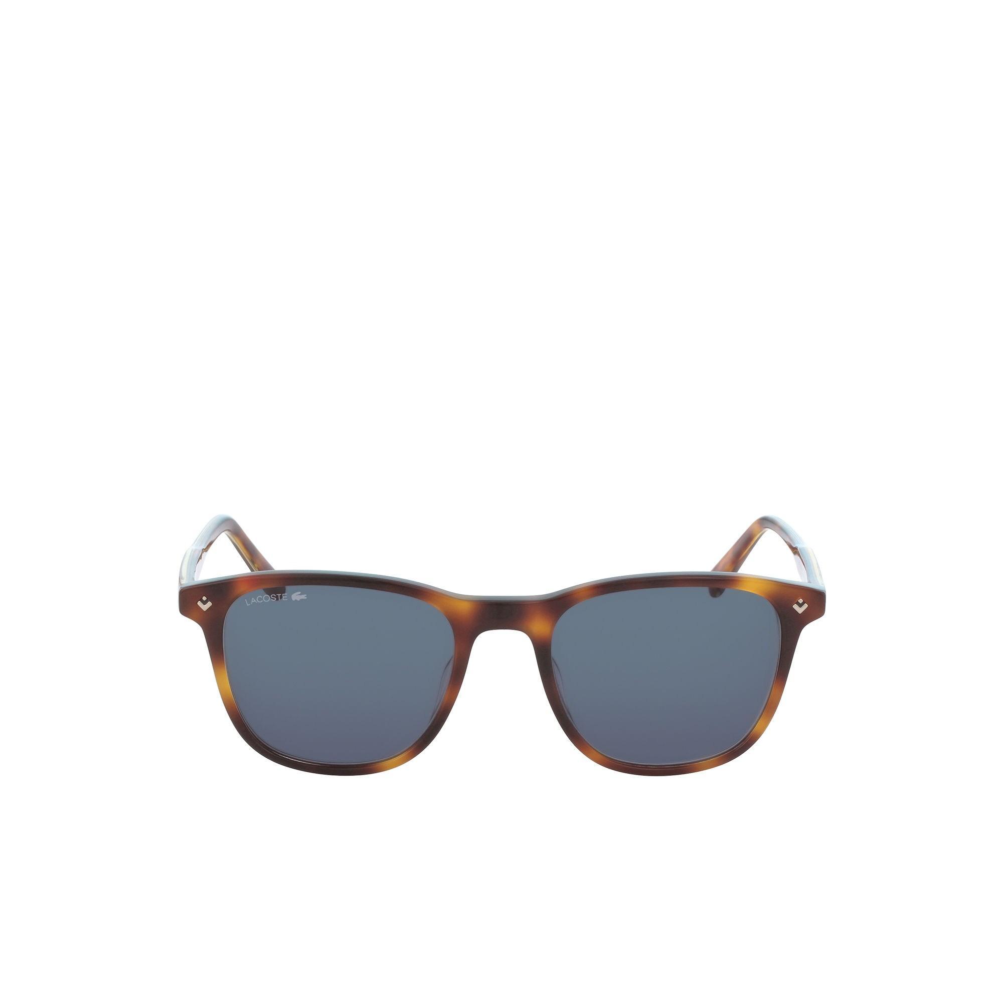 3c81e738687f Lacoste - Blue Plastic Petit Piqué Sunglasses - Lyst. View fullscreen