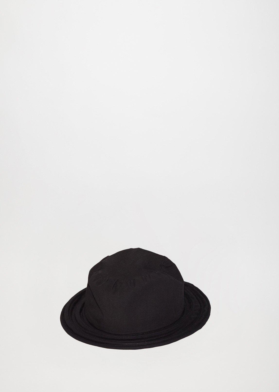 ed329b93d9a25c Lyst - Yohji Yamamoto Crinoline Cloche Hat in Black