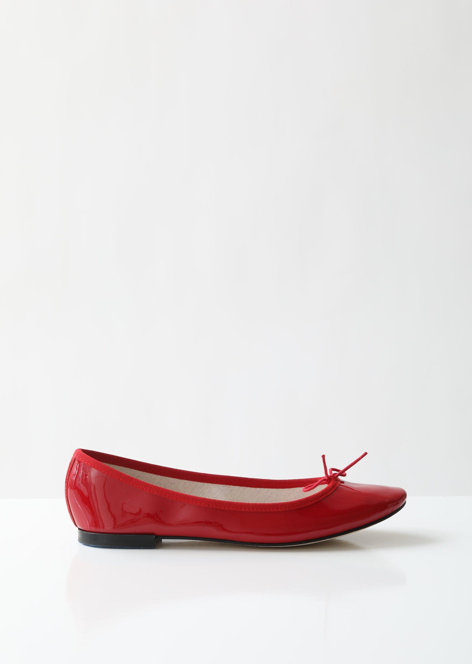 7e50064e763e0 Repetto Cendrillon Ballerina Flats in Red - Lyst