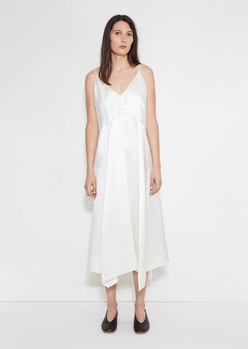 Lyst - Lemaire Lingerie Dress in White