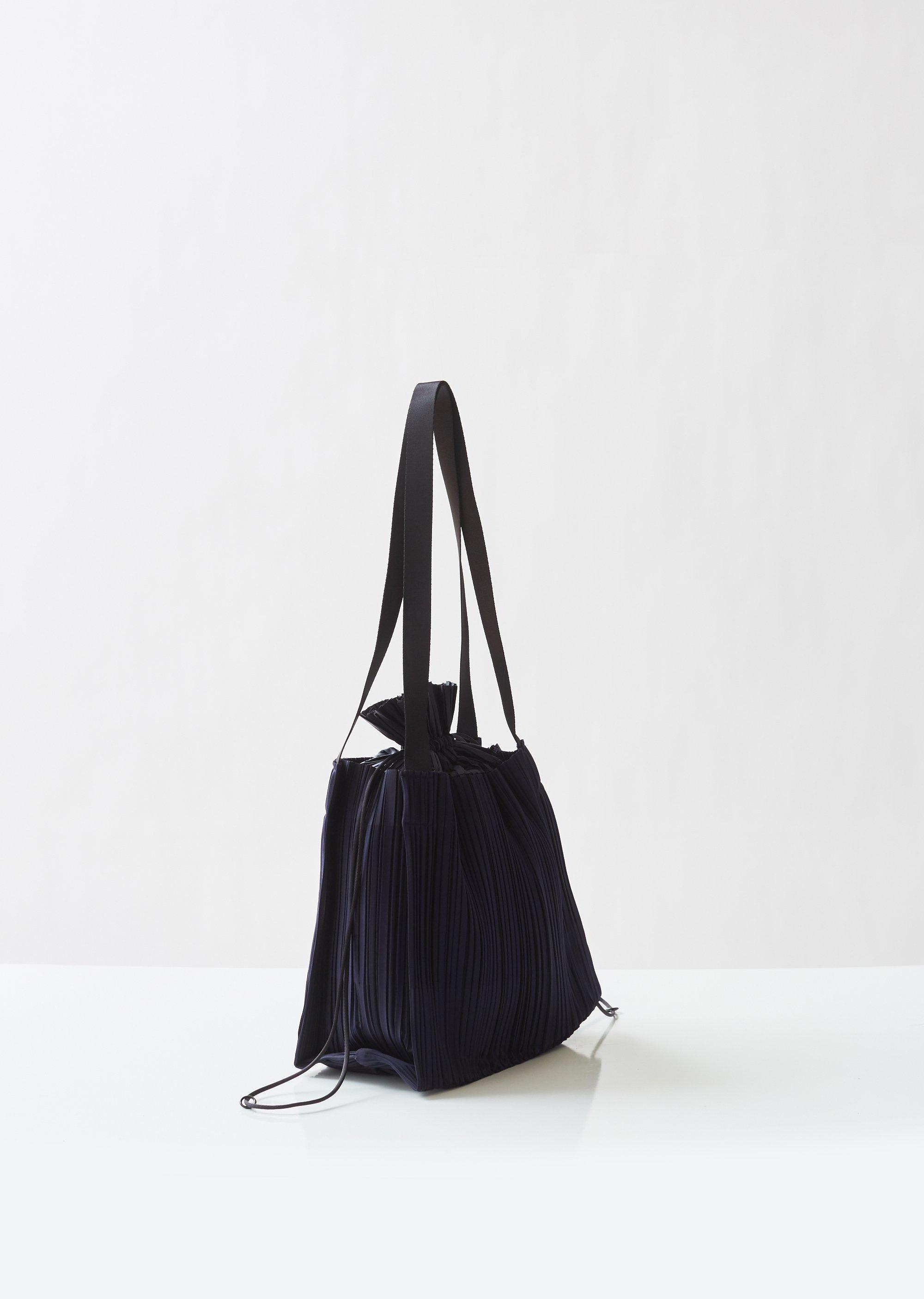 e18facac06 Pleats Please Issey Miyake - Blue Large Square Pleats Bag - Lyst. View  fullscreen