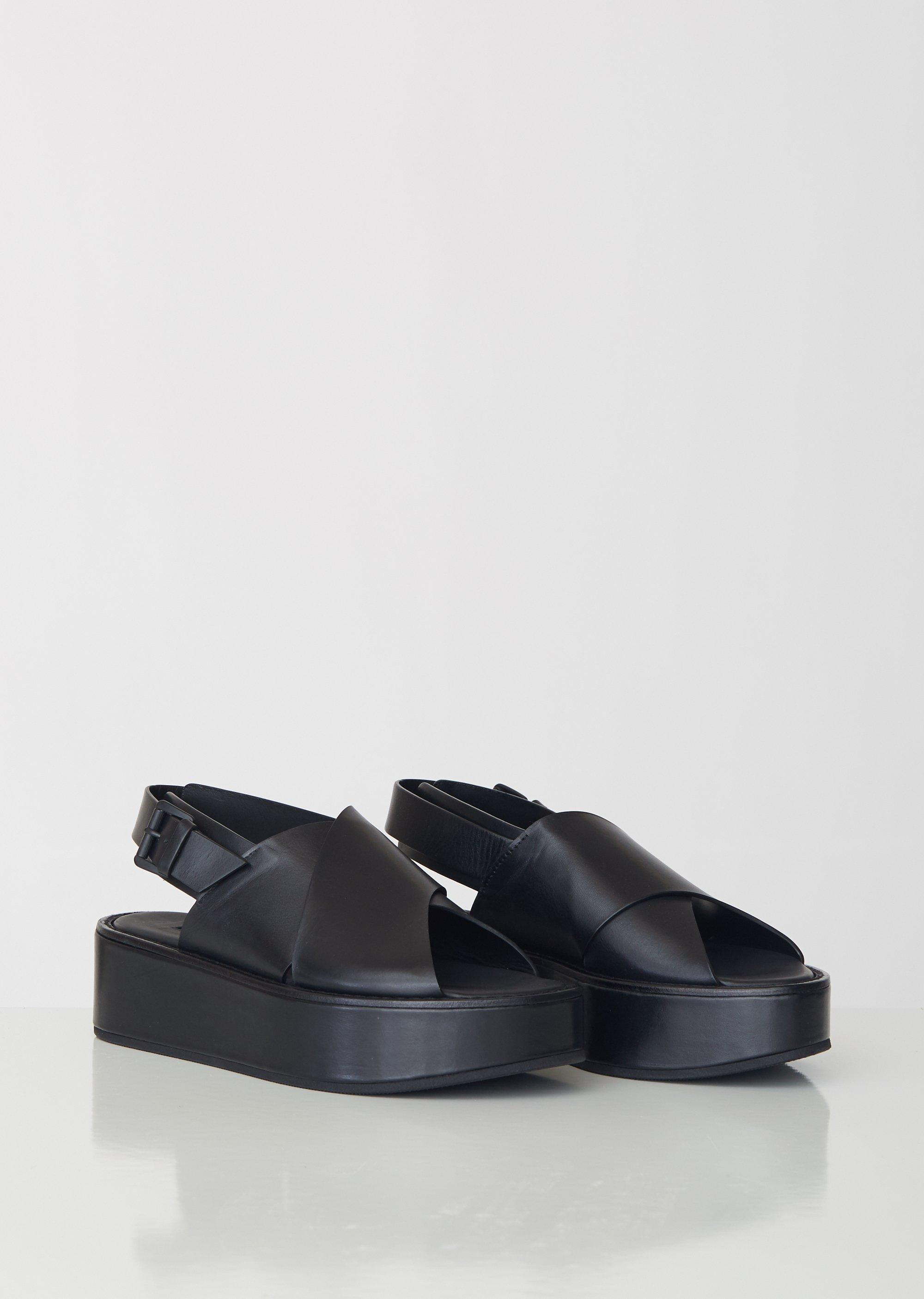 667f6f81248d Ann Demeulemeester - Black Nero Platform Sandals - Lyst. View fullscreen