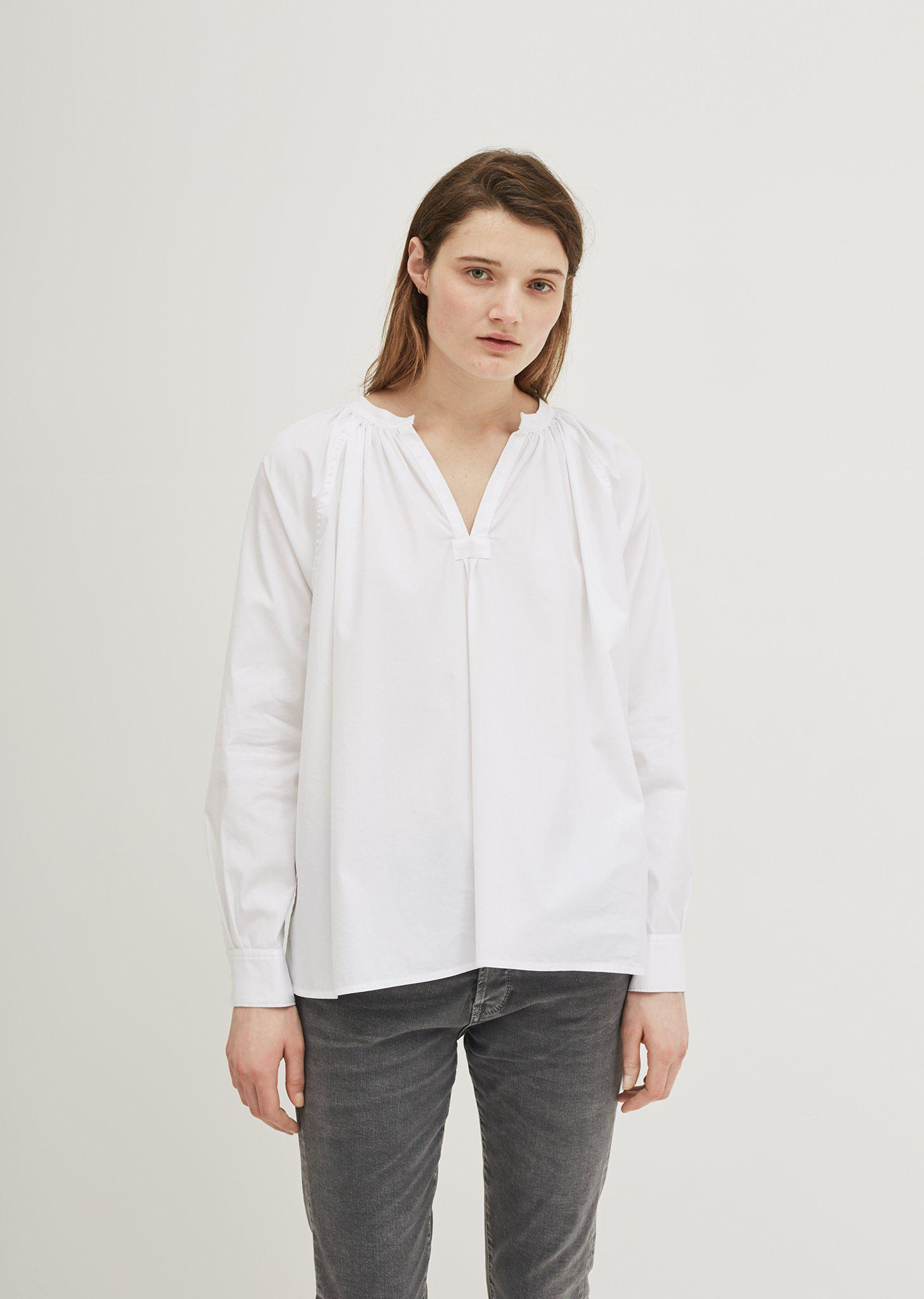 White Trapeze Shirt 6397 Buy Cheap Many Kinds Of sn0Q2