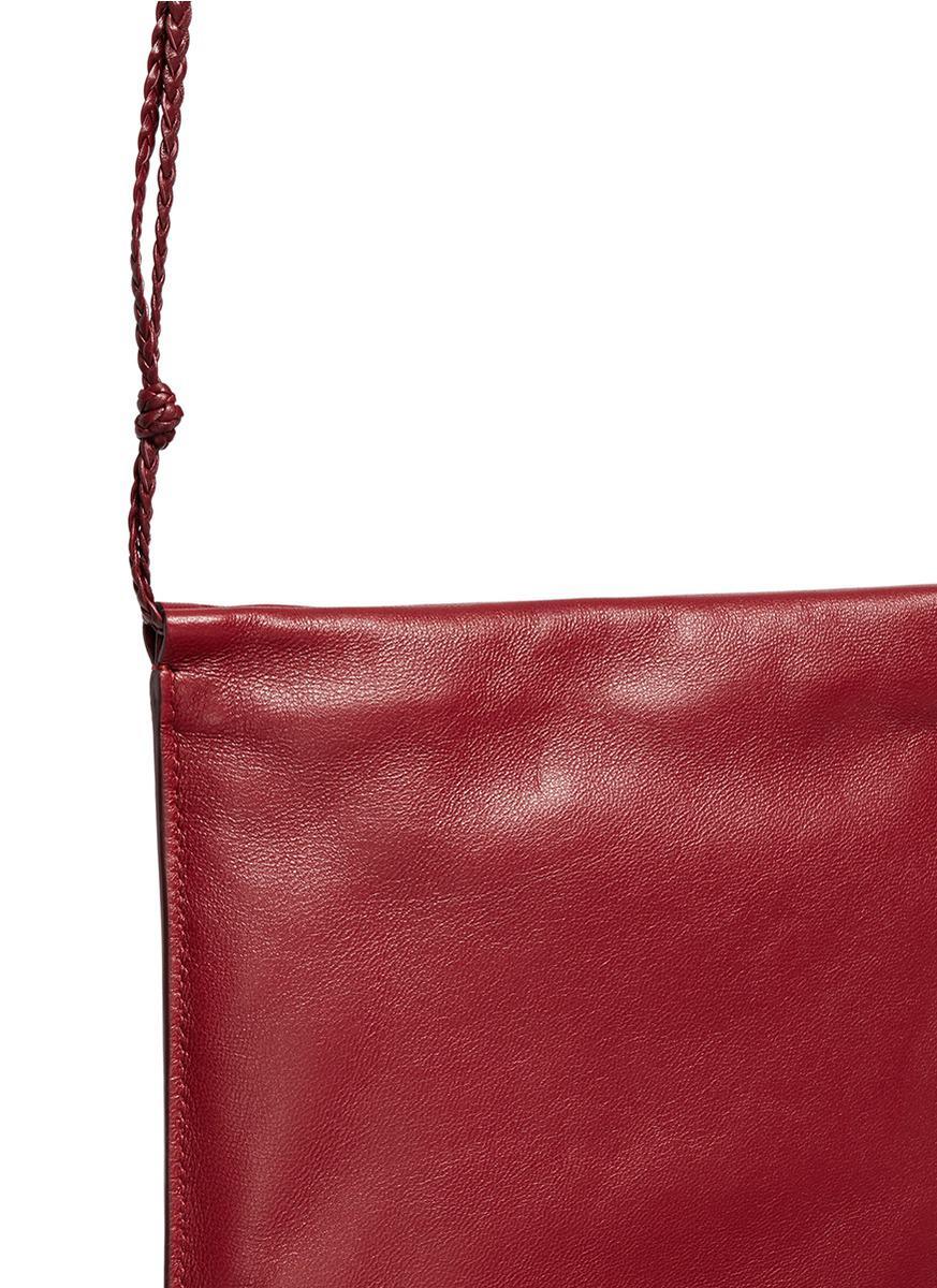 Medicine leather cross-body bag The Row Oqt35dIQ