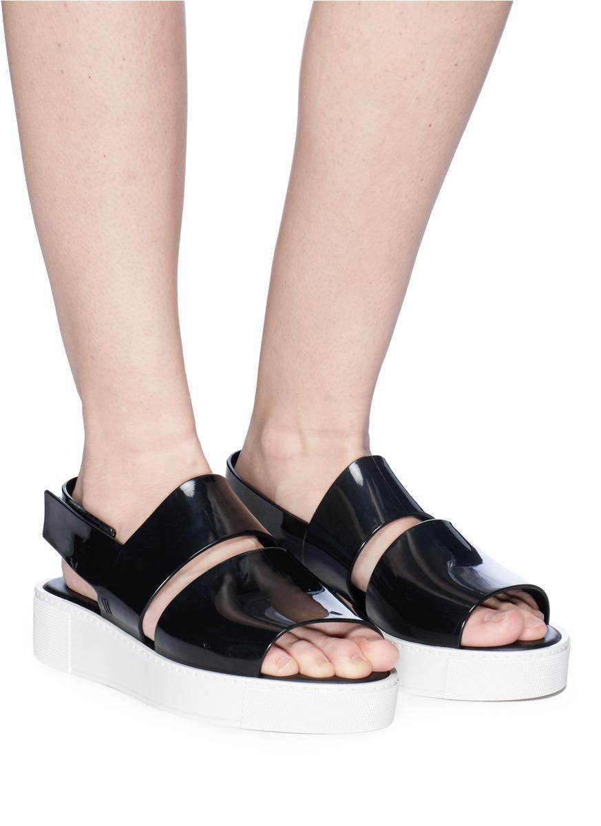 e4d71045b7f4 Lyst - Melissa  soho  Slingback Platform Sandals