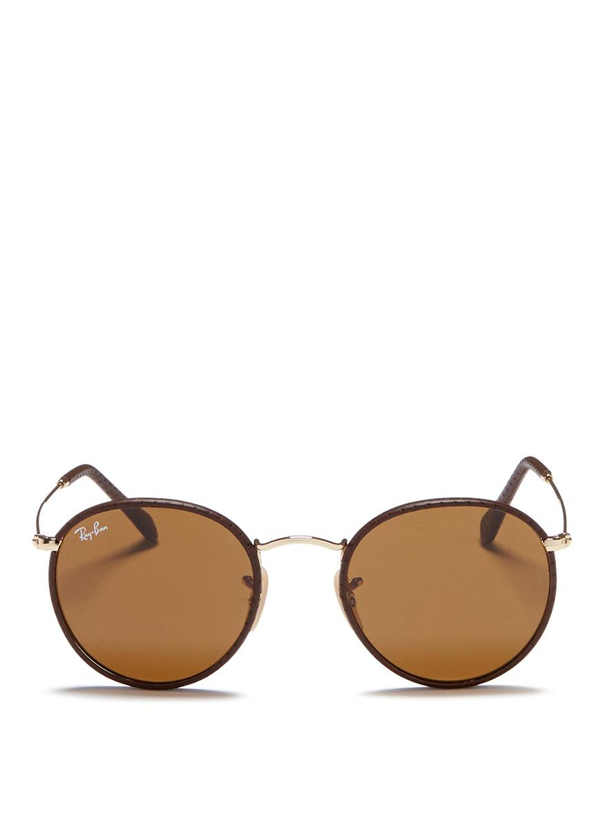 08a31e9908f Ray Ban Round Metal Leather « Heritage Malta