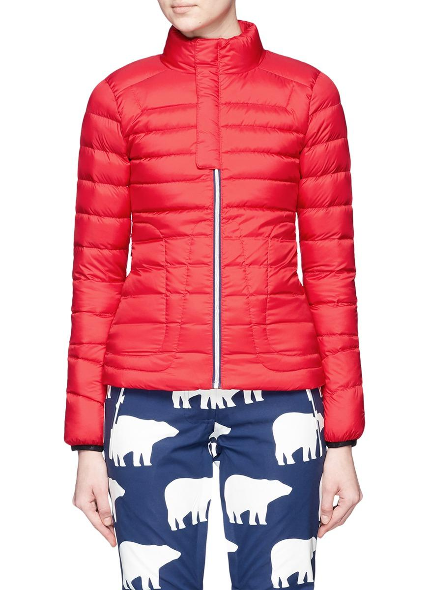 Perfect Moment Goose Mini Duvet Quilted Down Ski Jacket In