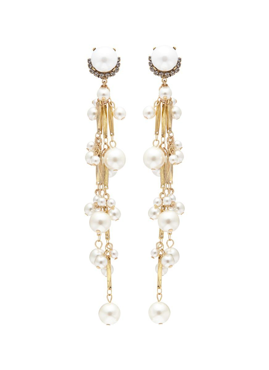 Erickson Beamon Pretty Woman Pearl Earrings H6W6dH