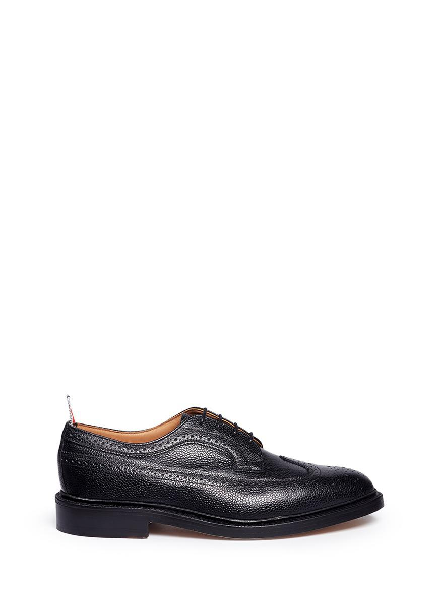 Thom Browne Pebbled saw sole brogues VC7L68R