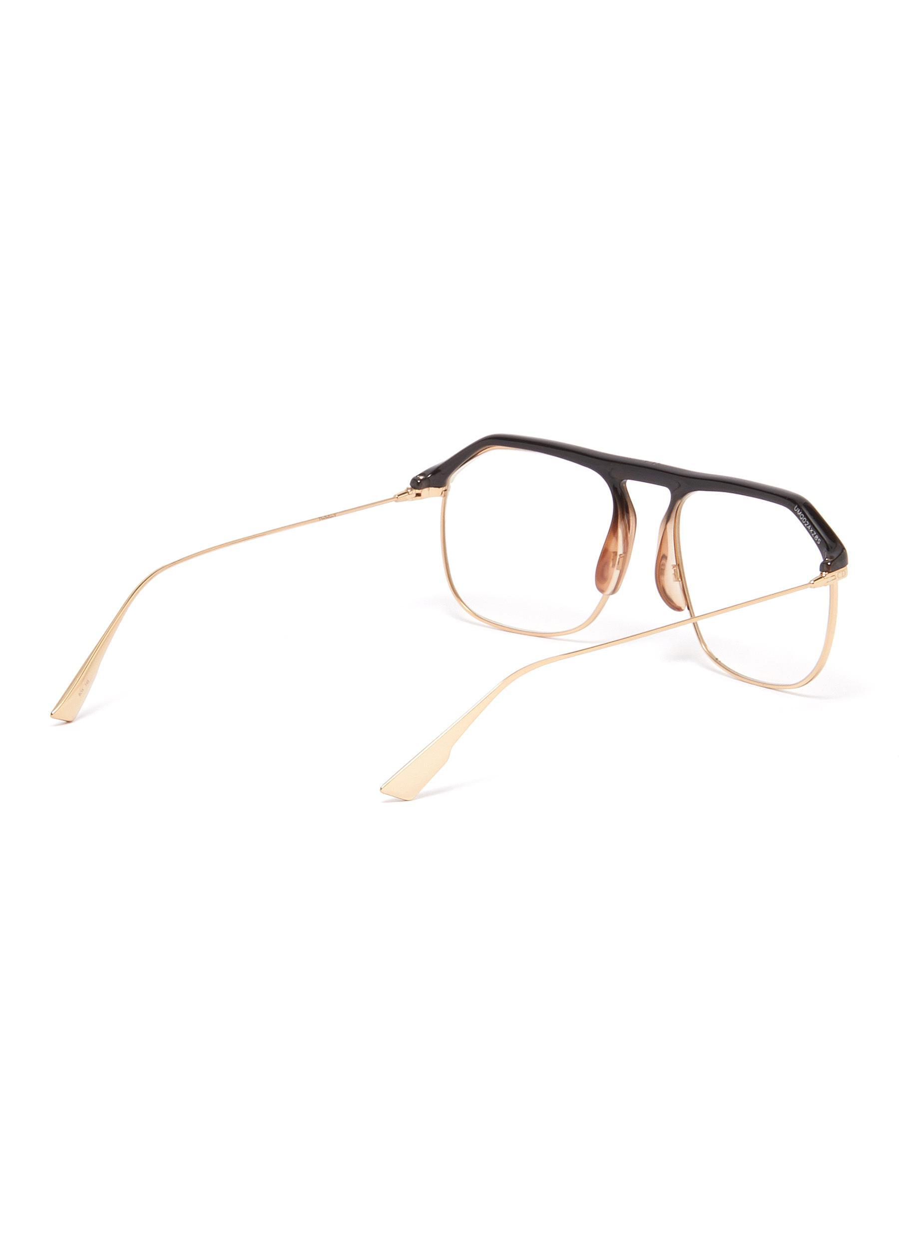 460e140993d ... Acetate Top Bar Metal Square Optical Glasses for Men -. View fullscreen