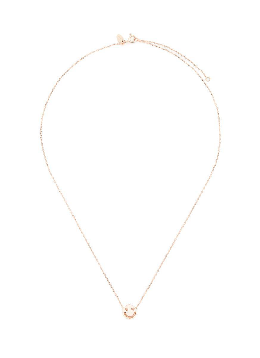 Ruifier Happy Necklace in Metallics vwghLhNzed