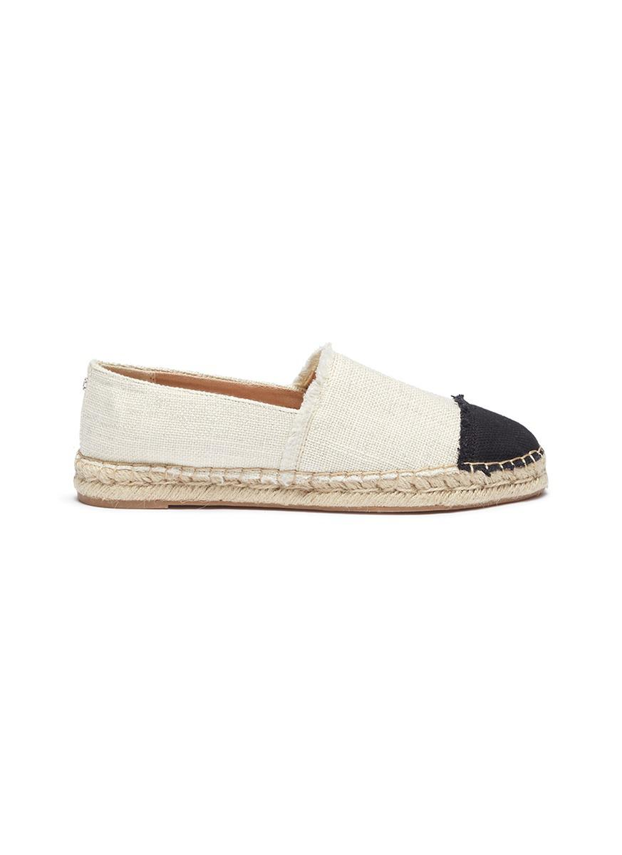 Sam Edelman Krissy Metallic Canvas Espadrilles