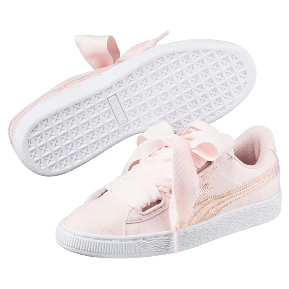 PUMA W Heart Canvas Trainers sneakernews sale online big discount cheap price cheap sale pay with paypal clearance Cheapest zes22HA3O