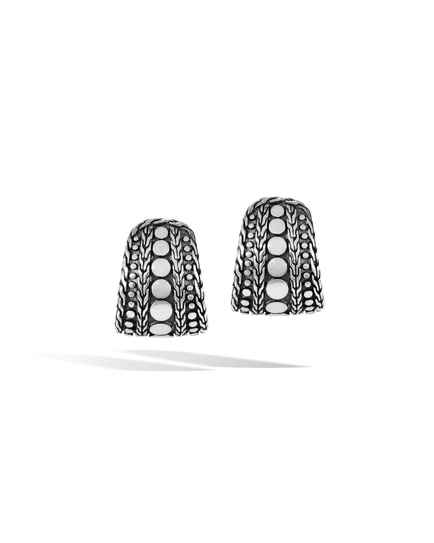 John Hardy Dot Nuansa J-Hoop Earrings ifwQJc