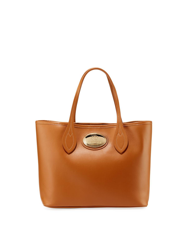 8c81e5e1e7 Lyst - Roberto Cavalli Calf Leather Tote Bag in Brown