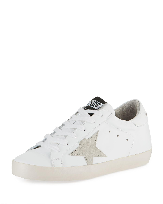 4464c61ec55 Lyst - Golden Goose Deluxe Brand Superstar Leather Sneakers in White