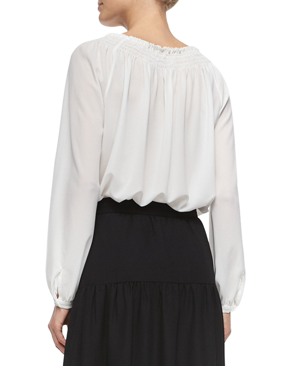 Cotton Peasant Blouses