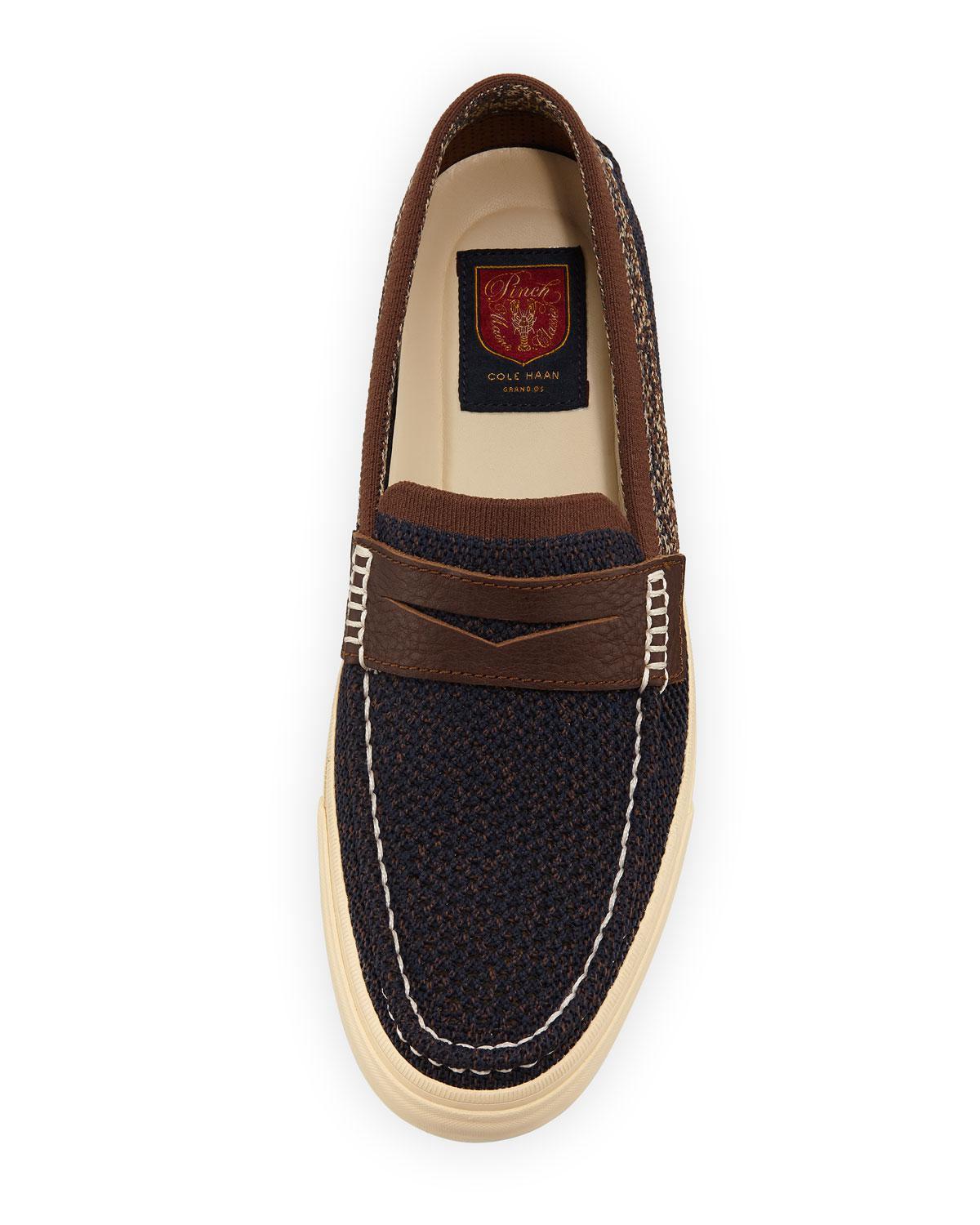 a7642f53f36 Lyst - Cole Haan Men s Pinch Weekender Lx Stitchlite Slip-ons in Blue for  Men