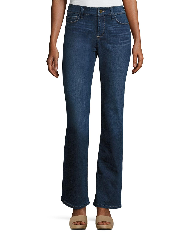Nydj Barbara Boot-cut Denim Jeans in Blue | Lyst