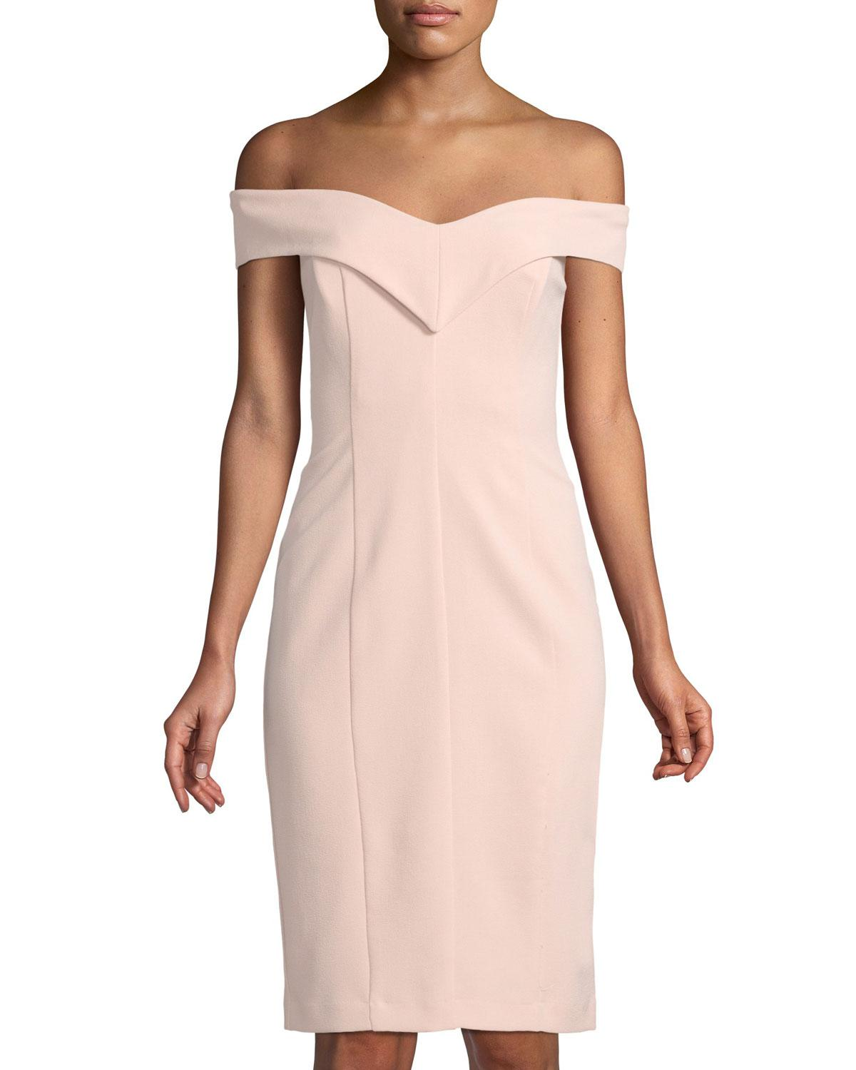 4df344c1 Gallery. Previously sold at: Last Call · Women's Off The Shoulder Dresses  Women's Sheath Dresses Women's Wedding Guest Dresses