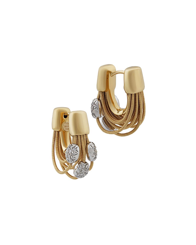 Marco Bicego 18k Multi-Strand Diamond Earrings l8Eqni