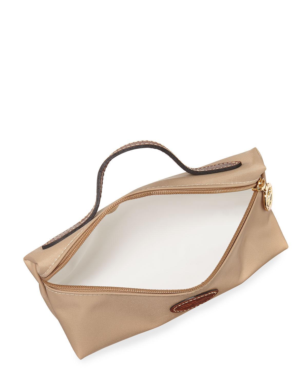 Longchamp - Natural Le Pliage Cosmetics Bag - Lyst. View fullscreen