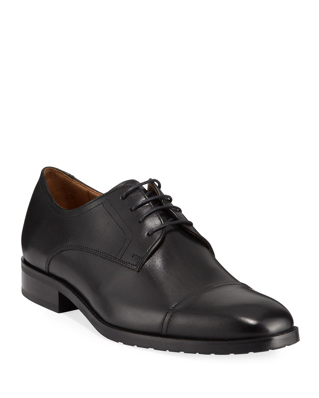 468a42113d506 Robert Talbott Men's Mayfair Cap-toe Lace-up Shoes in Black for Men ...