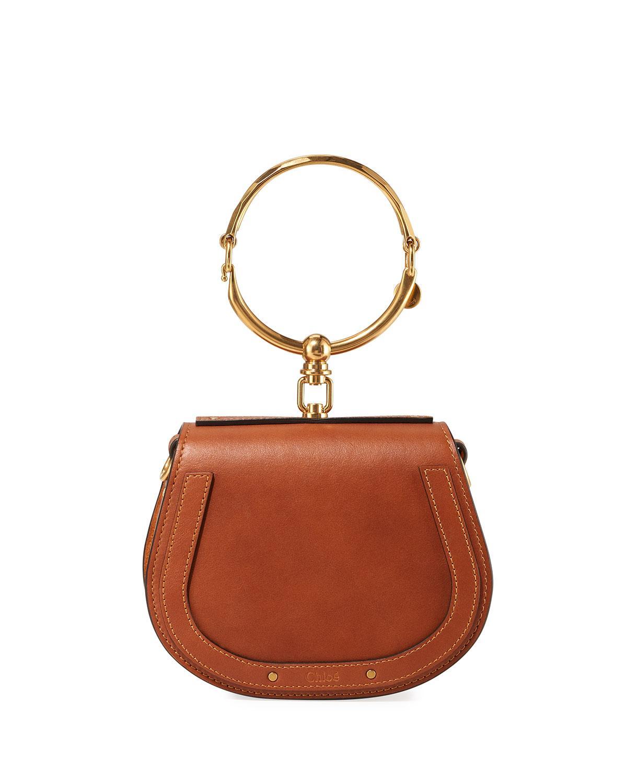 644ea3dc30ad Chloé. Women s Nile Small Bracelet Crossbody Bag Camel