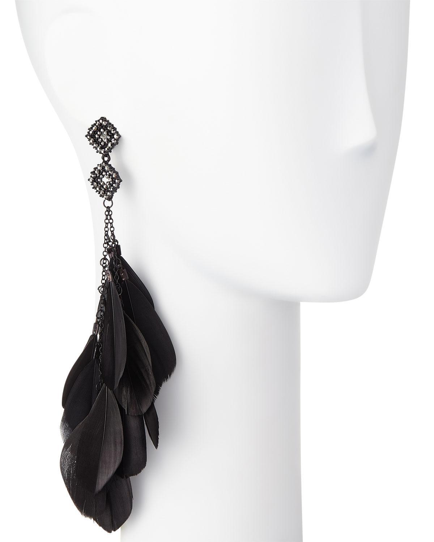 Romeo & Juliet Couture Flower & Donut Drop Earrings tEpK4K9