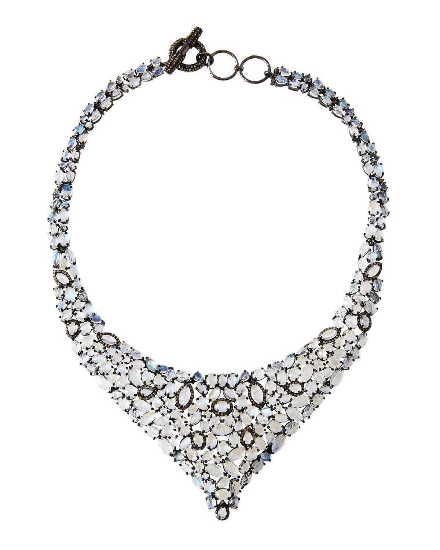Bavna Emerald & Diamond Spike Necklace hiBjUK