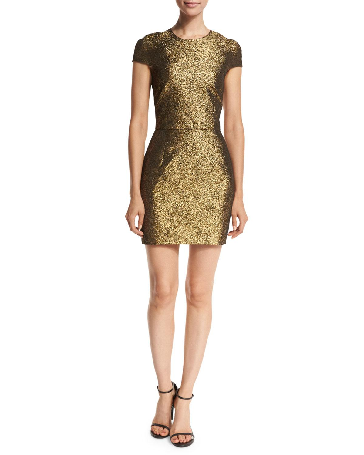 Diane von Furstenberg Mini Sheath Dress Clearance Great Deals Free Shipping Fashionable Free Shipping Pictures X30gL