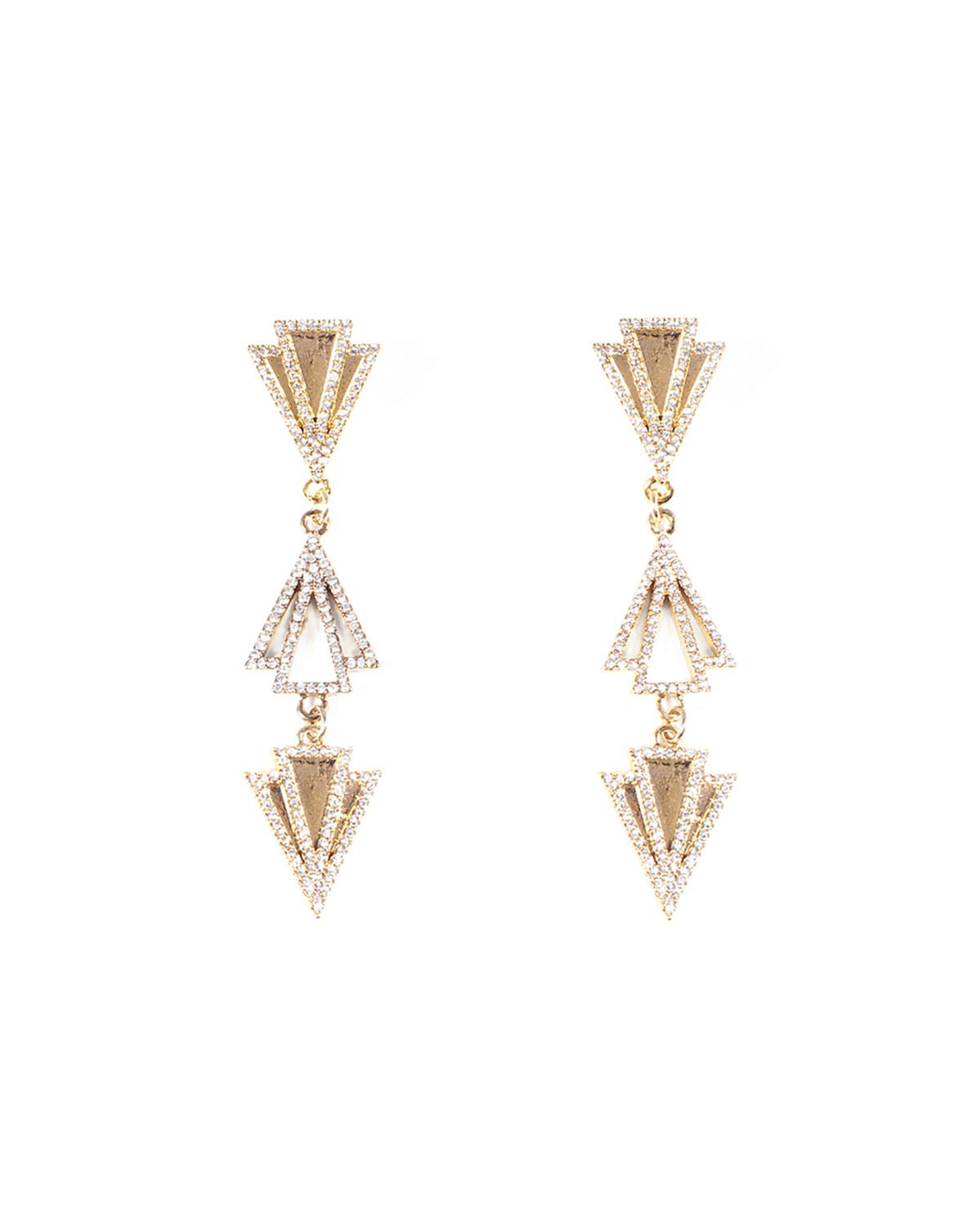 Lulu Frost Laumiere Drop Earrings w/ Crystals FSpcKm