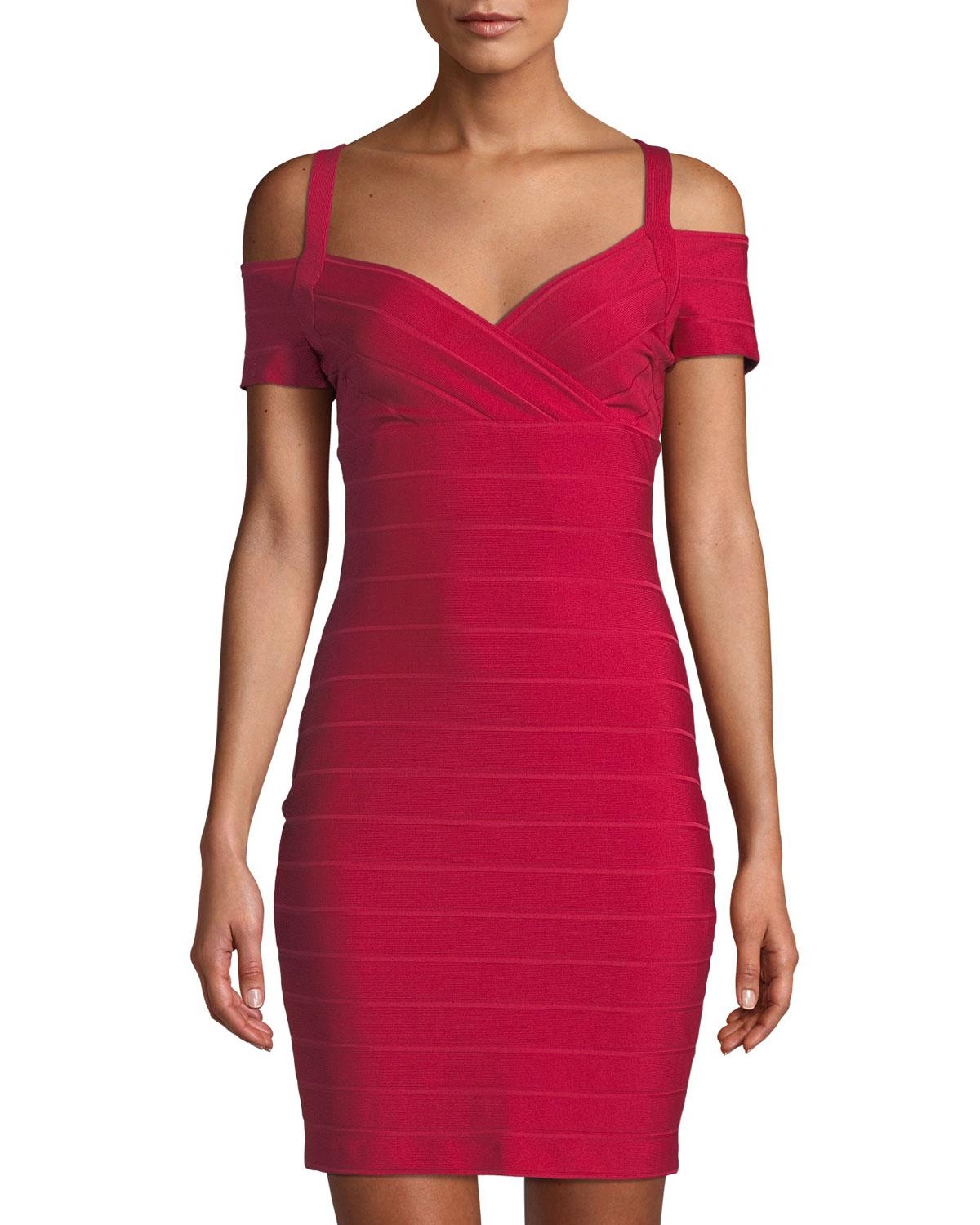Gal the guess red bodycon dress ancient rome
