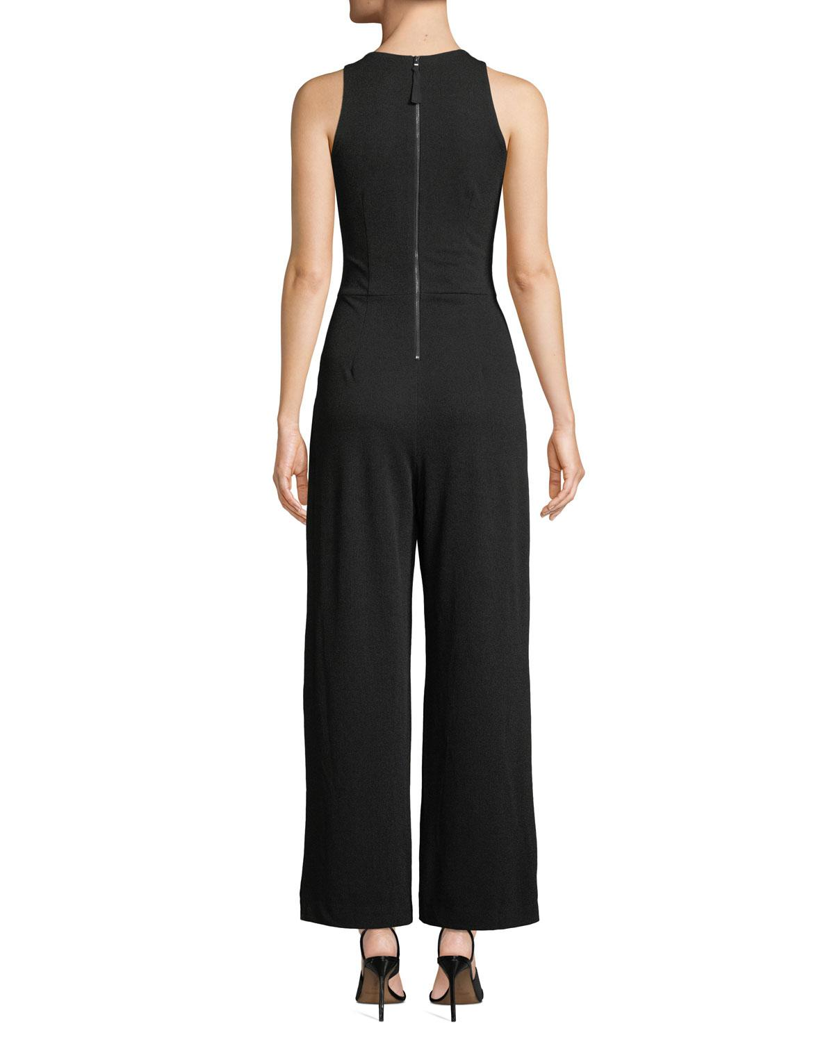 33b85e0c270f Lyst - Maggy London Ruched-bodice Jumpsuit in Black - Save 70%