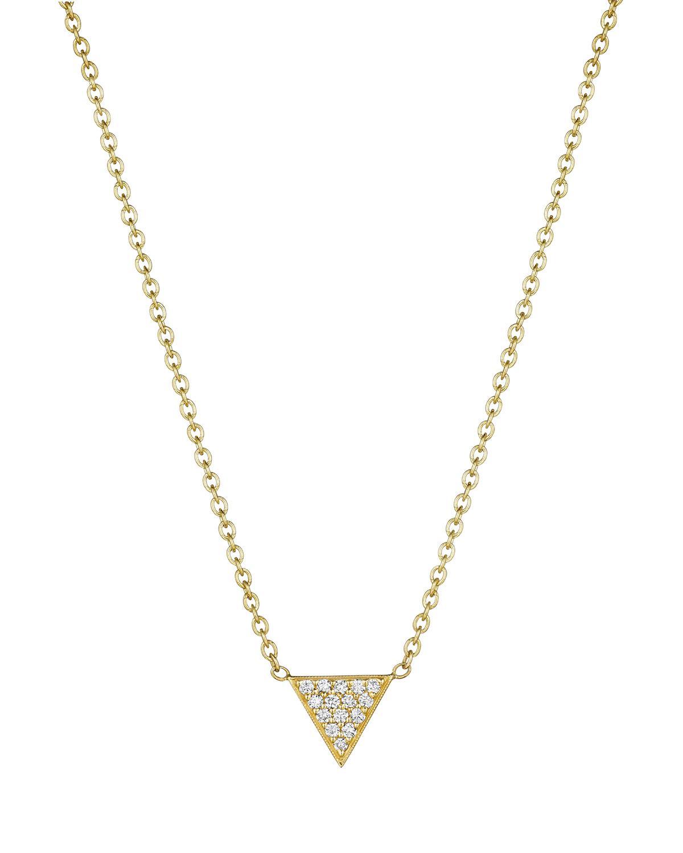 Penny Preville 18k Diamond Pavé Crescent Moon Pendant Necklace nKATCODLw