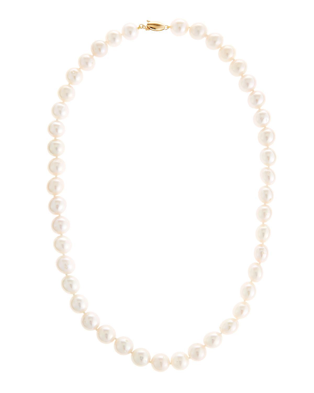 Belpearl 14k Triple Y-Drop Pearl Necklace dU6ZqXMV