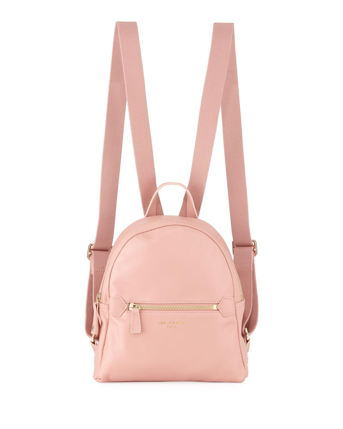 36eeb5f42393 Longchamp 2.0 Small Leather Backpack Bag in Pink - Lyst