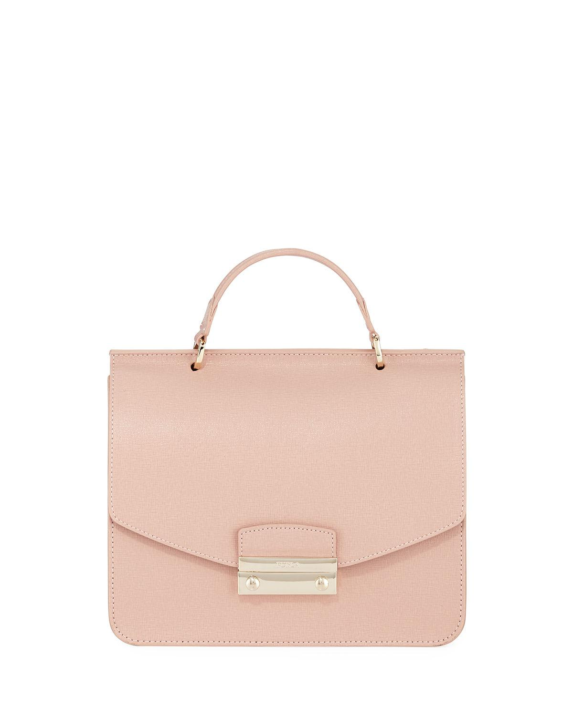 52ca42c85b49 Furla Julia Small Saffiano Leather Top-handle Bag - Save 49% - Lyst