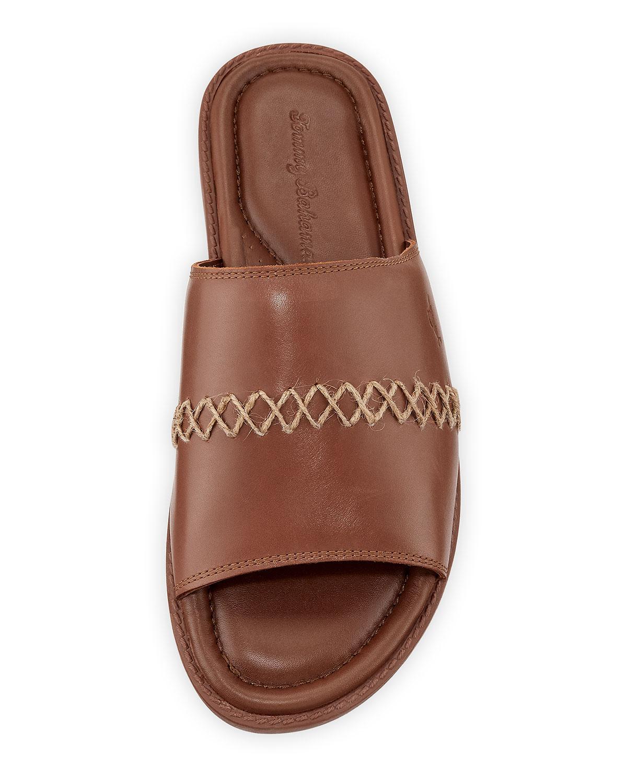 ba0a8fec49dfe Lyst - Tommy Bahama Men's Erwin Flat Sandals in Brown for Men
