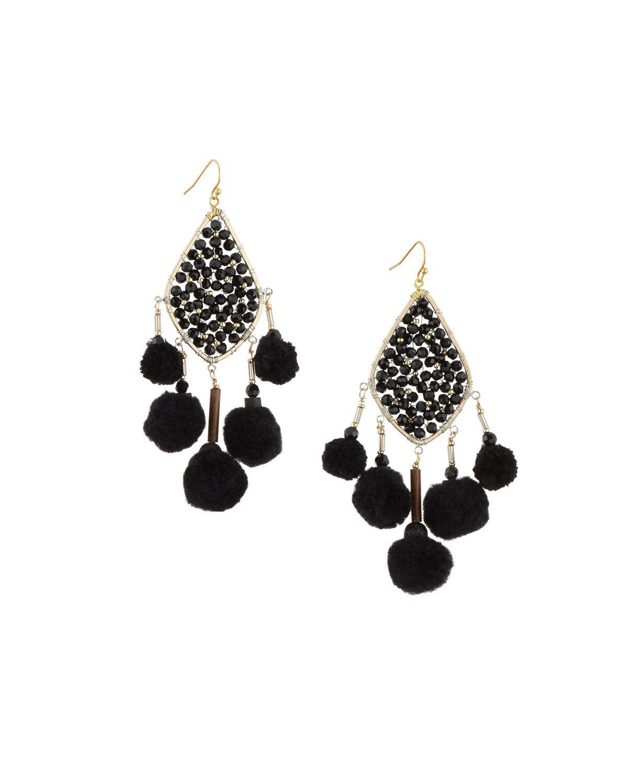 Nakamol Mixed Crystal Bead Chandelier Earrings 3uxBgEr9