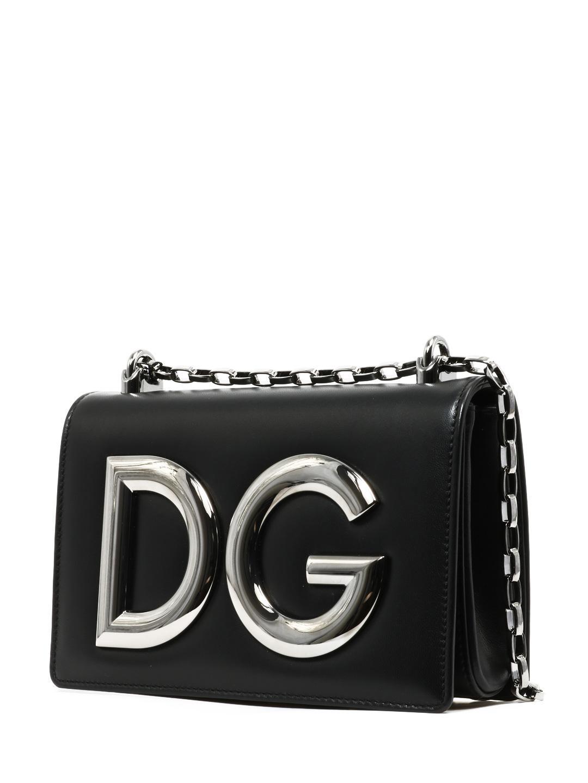 87fadd9de6fd Dolce   Gabbana - Black Shoulder Bag Dg Girls - Lyst. View fullscreen
