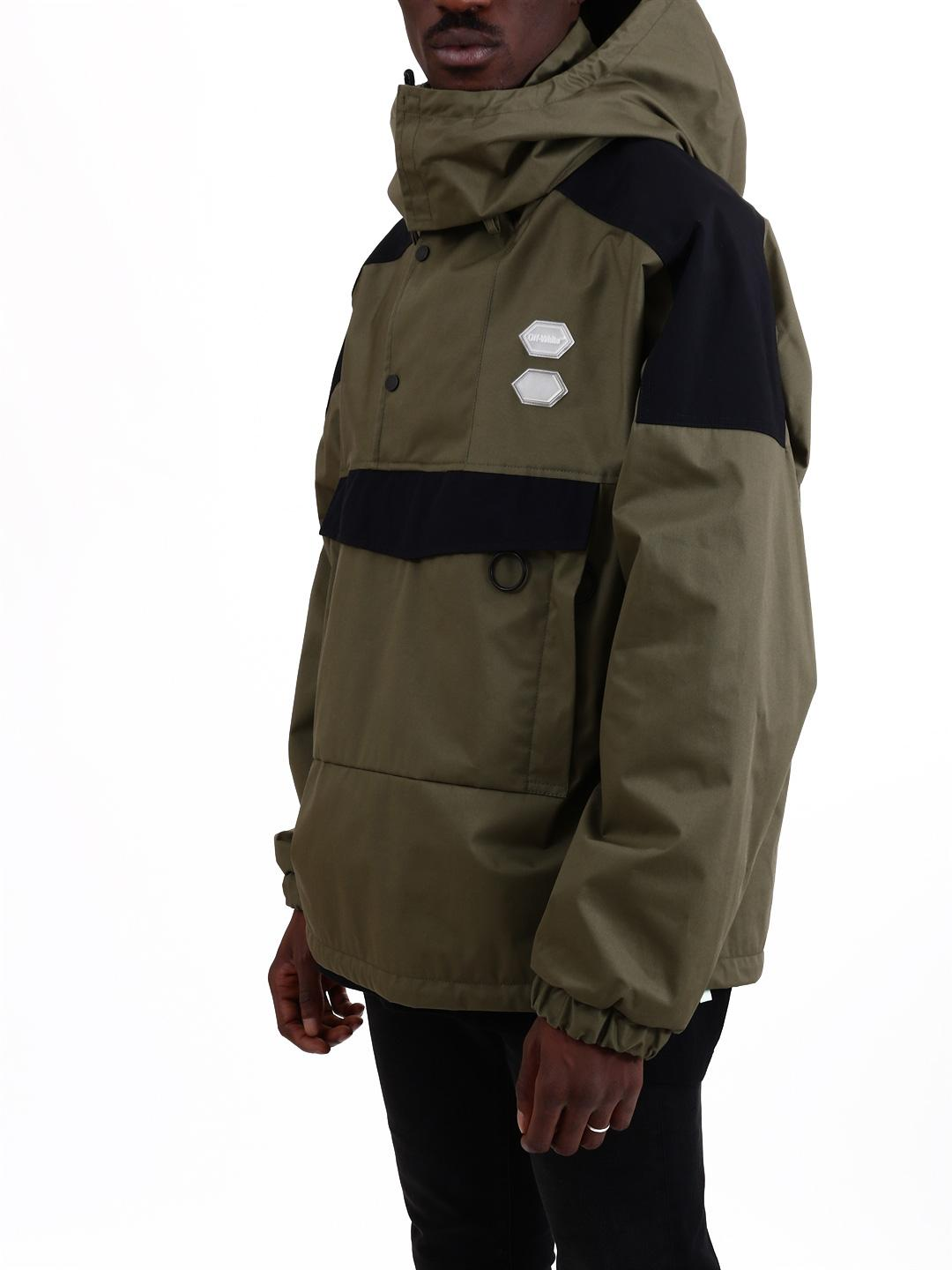 9389ad488ef6 Lyst - Off-White c o Virgil Abloh Military Green Jacket in Green for Men