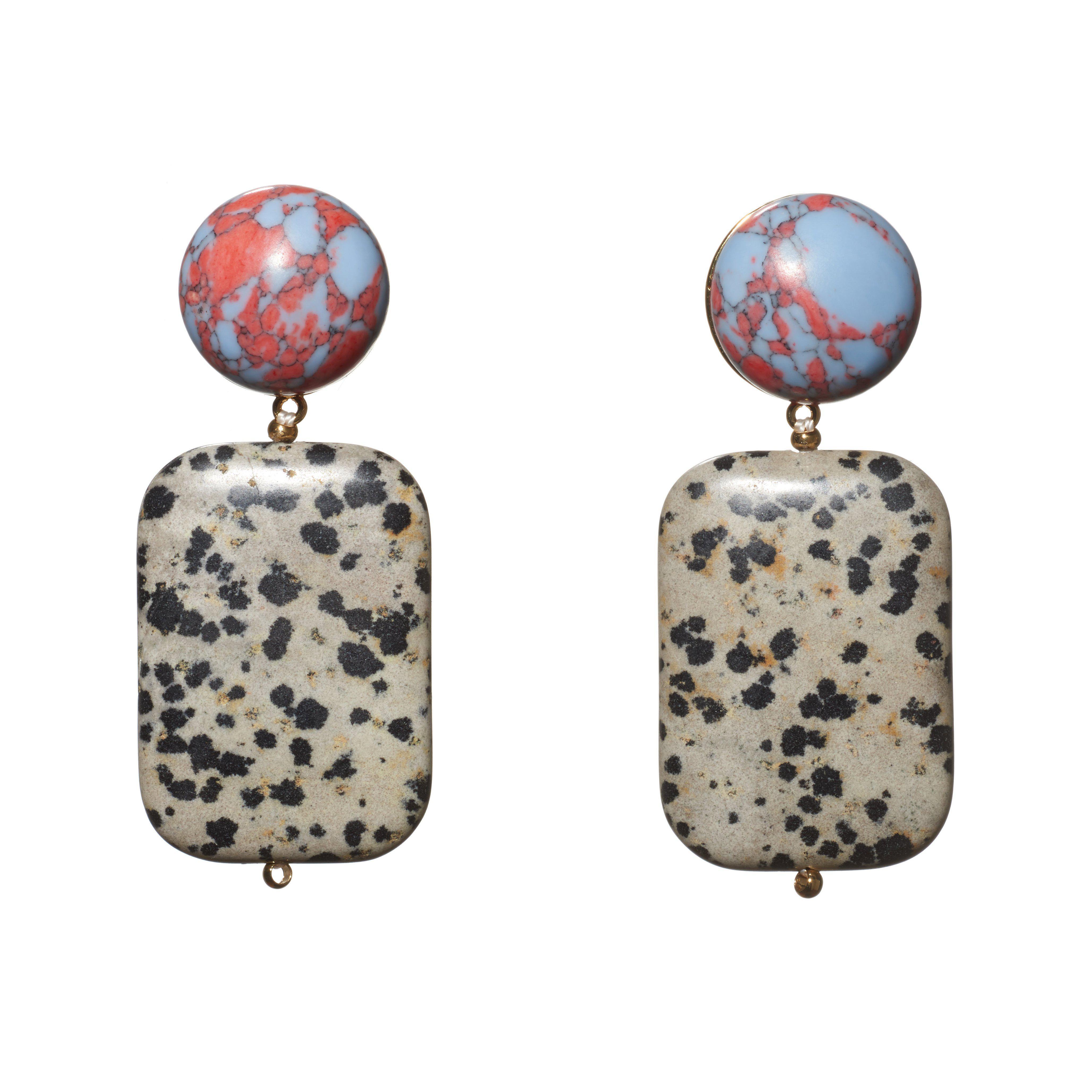 Lele Sadoughi Keepsake Stone Earrings Z2av8T