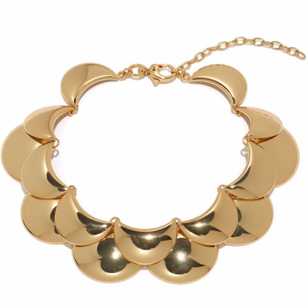 Lele Sadoughi Golden Cove Necklace gB88nv4yxX