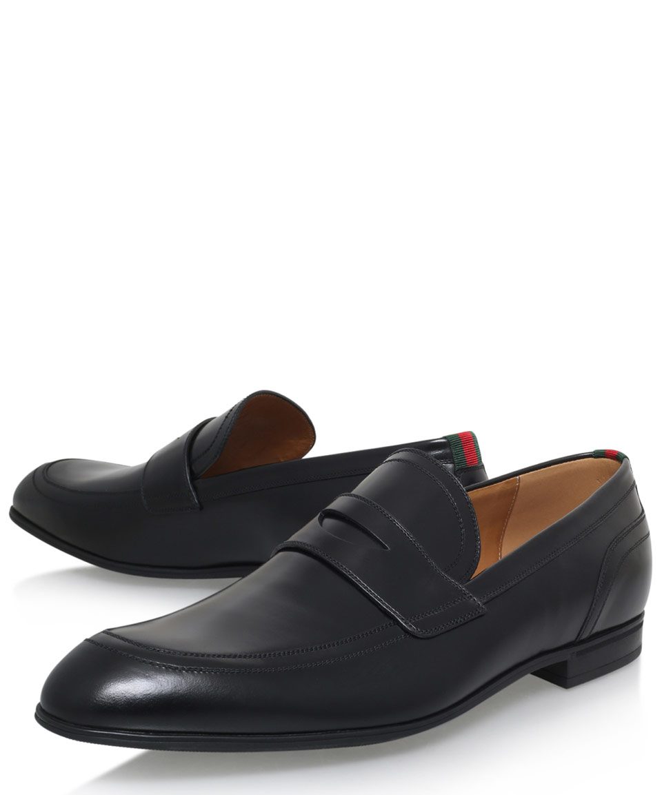 906e42e399d Lyst - Gucci Ravello Loafer Shoes in Black for Men