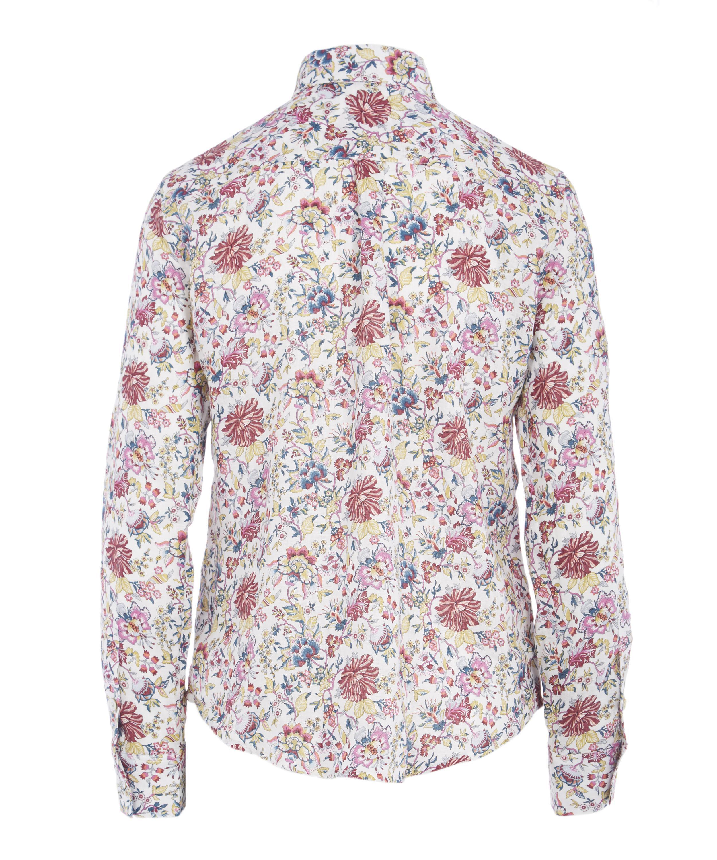 39d7b5b2f84ca4 Lyst - Liberty Christelle Women's Linen Bryony Shirt in Pink