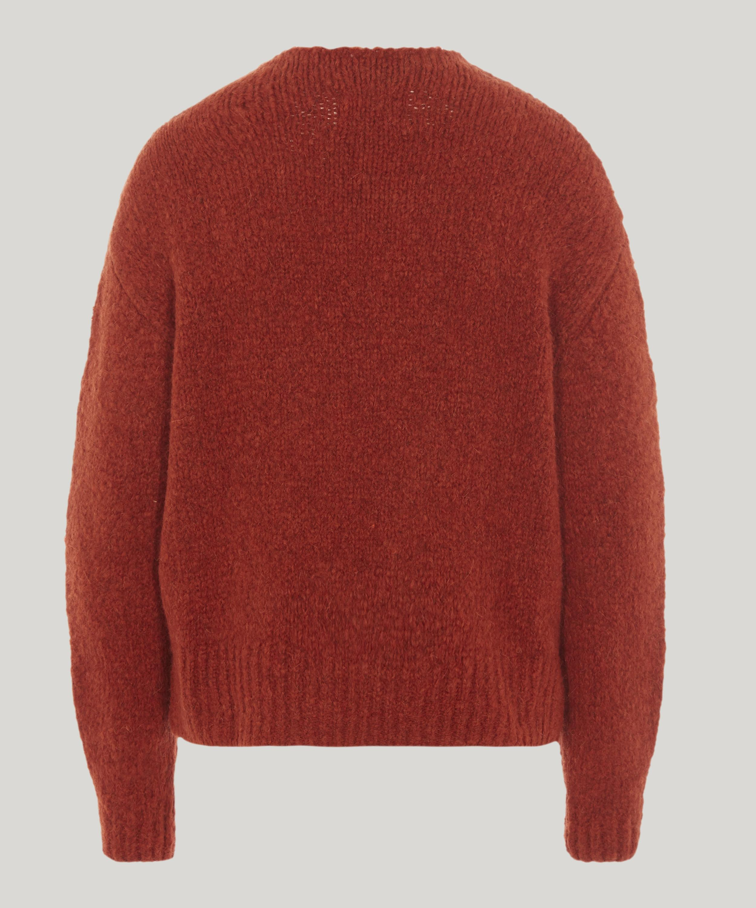 Lyst Paloma Wool Virgo Intarsia Knit Sweater In Red